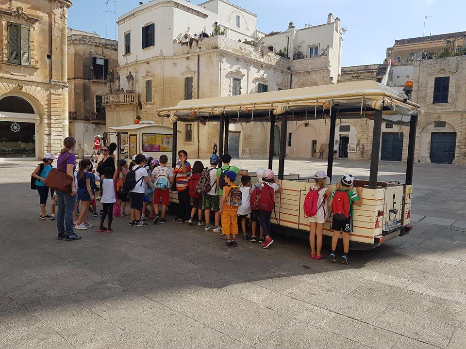 Campo estivo in trenino Città a Lecce