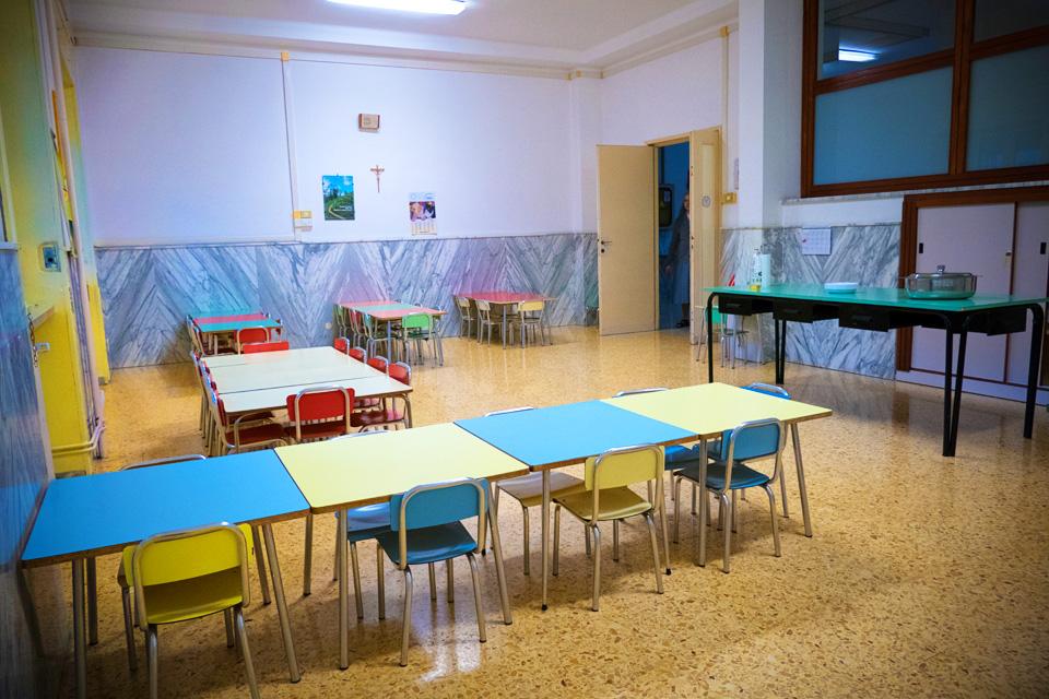 Sala mensa Suore di Ivrea Lecce